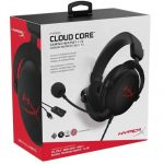 HyperX Cloud Core – Gaming Headset, for PC, 7.1 Surround Sound: 1 Year Warranty